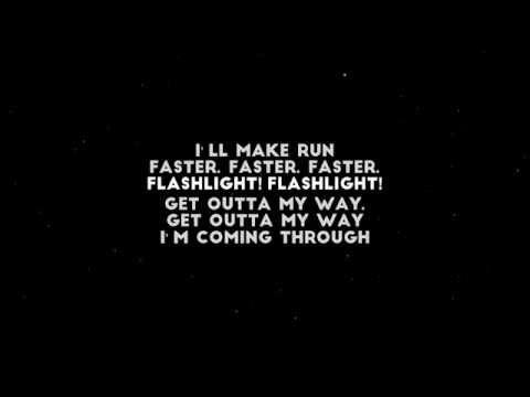 DJ Fresh feat. Ellie Goulding - Flashlight (Lyrics by LyricsCreator)