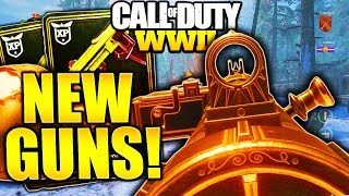 9 SECRET GUNS IN COD WW2! NEW DLC GUNS CALL OF DUTY WORLD WAR 2 DLC MAPS and GUNS LEAKED!