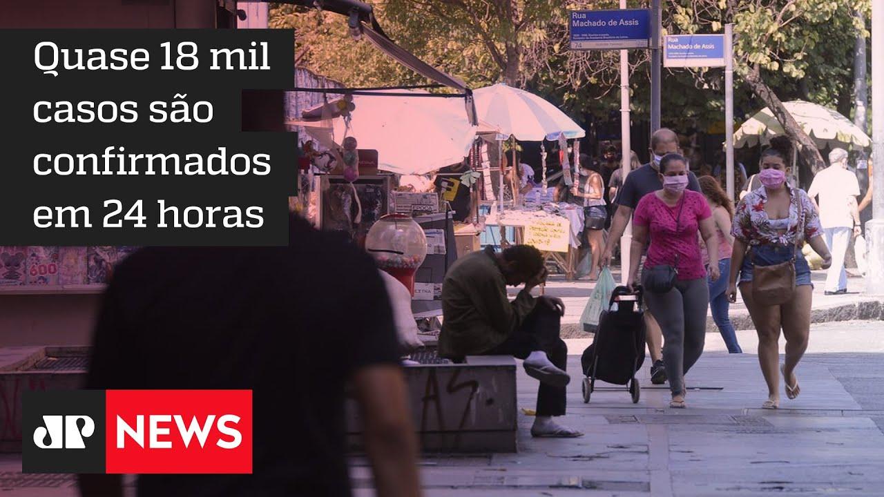 Casos de COVID-19 voltam a ser alarmantes no Rio de Janeiro