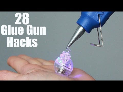 28 Awesome Hot Glue Gun Life Hacks In 2017
