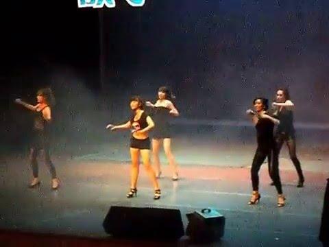 중국 대학생 축제 댄스팀 공연 직캠~!(university campus festival's dance)