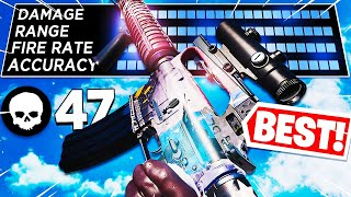 47 KILLS with the BEST GUN in WARZONE! (Cold War Warzone)