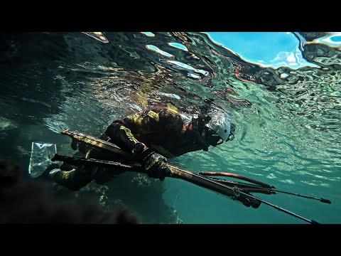 Dark Waters - Searching For Fanged Predators Underwater  Spearfishing Life 🇬🇷