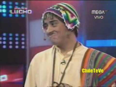 """El Peruano """"Indo"""" con Cecilia Bolocco en """"Un Golpe de Lucho"""""""