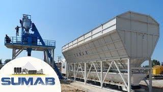 Concrete plant SUMAB 80-100 m3, economy class