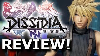 Dissidia Final Fantasy NT Review! Strange But FUN? (PS4)