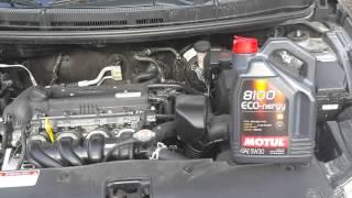 видео Замена масла в двигателе Киа Рио 3