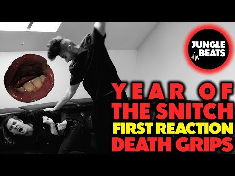 DEATH GRIPS - YEAR OF THE SNITCH REACTION/REVIEW (Jungle Beats)
