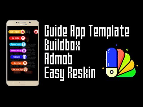 Guide App Template with AdMob + chartboost - Buildbox ...