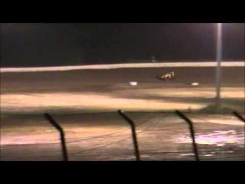 Matt Humphrey- Feature at Clay County Speedway 5-31-14