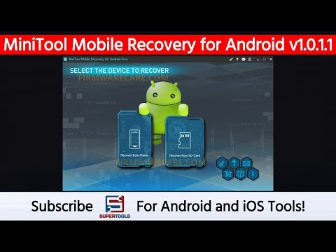 MiniTool Mobile Recovery For Android V1.0.1.1 - Best Data Recovery Tool