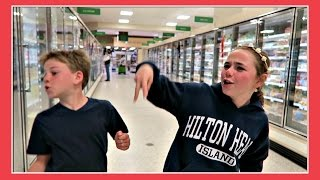 The Lady Yelled at Us In The Grocery Store   Flippin' Katie