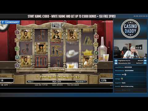 BIG WIN!!! Dead or Alive Big win - Casino Games - free spins (Online Casino)