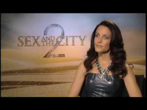 Kristin Davis (Sex and the City 2) Interview