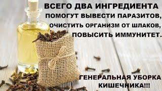 ВСЕГО ДВА ИНГРЕДИЕНТА ПОМОГУТ ВЫВЕСТИ ПАРАЗИТОВ. Противопаразитарные свойства гвоздики и семени льна