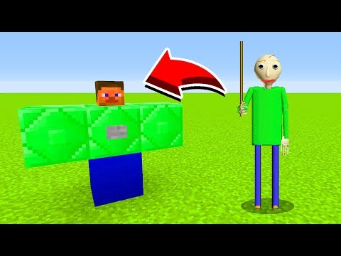 How To Spawn BALDI In Minecaft Pocket Edition/MCPE