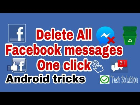Delete all facebook message chrome extensions On Android ᴴᴰ