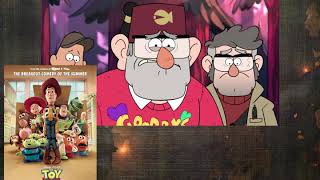 Pixar Portrayed by Gravity Falls