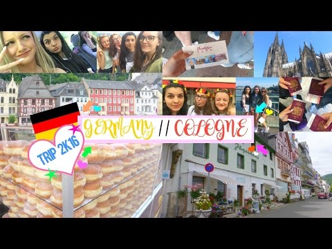 GERMANY TRAVEL DIARY 2016 ♡ | DipDyedDaisies xo