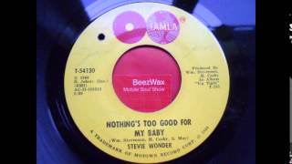 stevie wonder - nothing