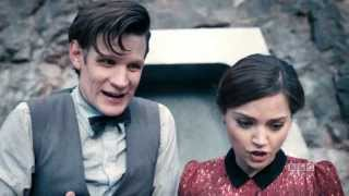 "DOCTOR WHO: Who are you, Clara? ""Journey to the Centre of the TARDIS"" BBC AMERICA"