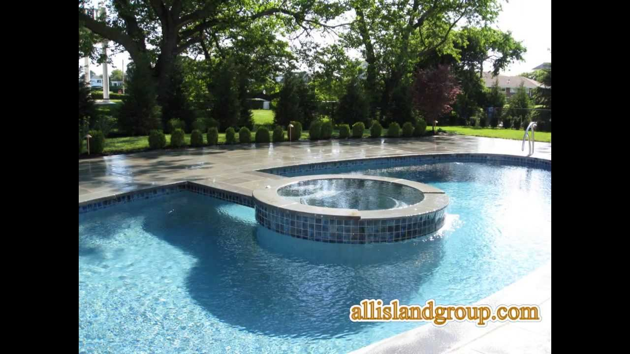 All Island Gunite Pools Long Ny 631 753 0004 Waterfalls Irrigation Spas More