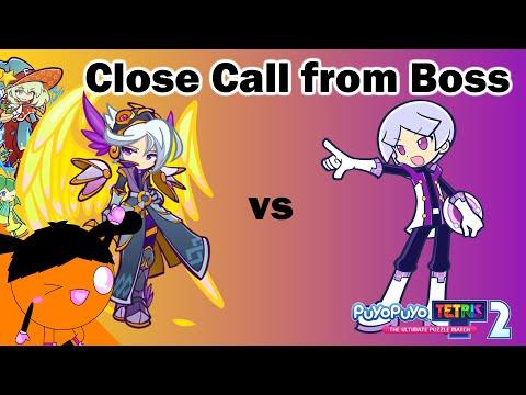 Close Call from Boss (Puyo Puyo Tetris 2) |