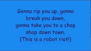 Phineas And Ferb - Robot Riot Lyrics (HD + HQ)