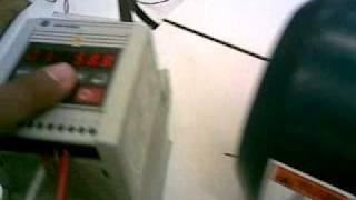 motor trifasico controlado x variador de...