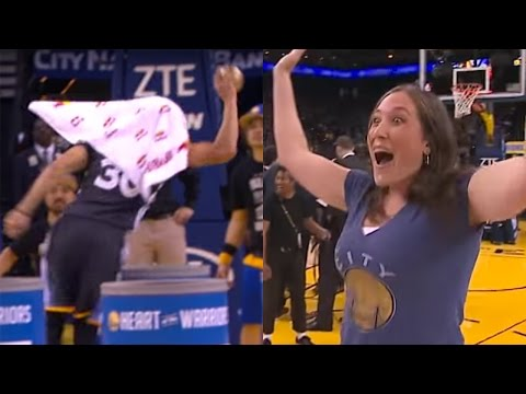 Thumbnail: Steph Curry SWOOPS in to Help Fan Win Money with $5,000 Assist
