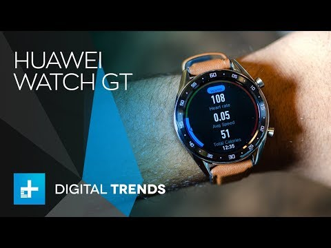 d24ab0fcfdb1 Huawei Watch GT - Hands On Review - YouTube