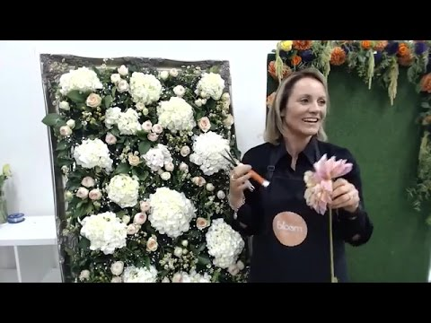 How To Make A Flower Wall Bloom Tv Live 30 3 16 Youtube