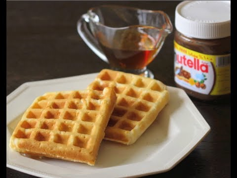 How to Make Waffles || وافلز