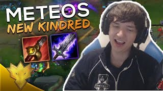 Meteos PLAYS NEW KINDRED! - Meteos Stream Highlights & Funny Moments