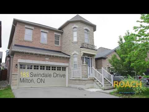 183 Swindale Drive  - Beautiful House For Sale In Milton, Ontario