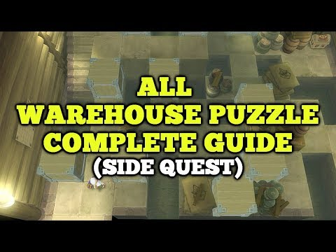 All Warehouse Puzzle Guide - Tales of Vesperia Definitive Edition