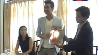 m9 underwear press conference in cambodia and nhem sokun is a brand ambassador tv3 press release