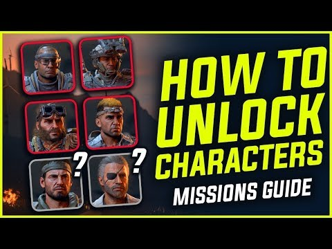 Call of Duty Black Ops 4 Blackout character mission unlocking Ajax