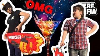 Коктейль для нёрфера челлендж Cocktail for Nerfer Challenge