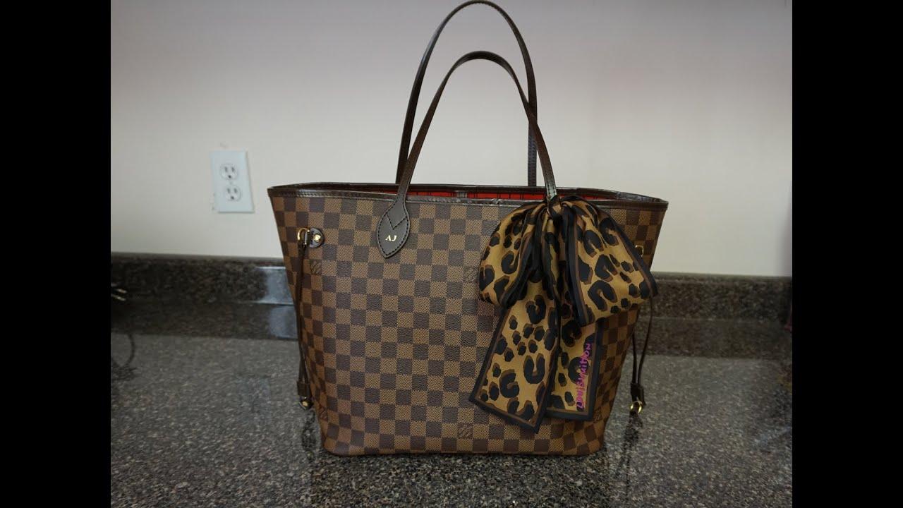 Louis Vuitton Neverfull MM | Wear & Tear after 4 years ...