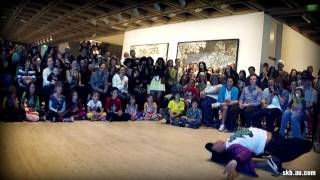 Bboy Demo at Art Gallery of NSW