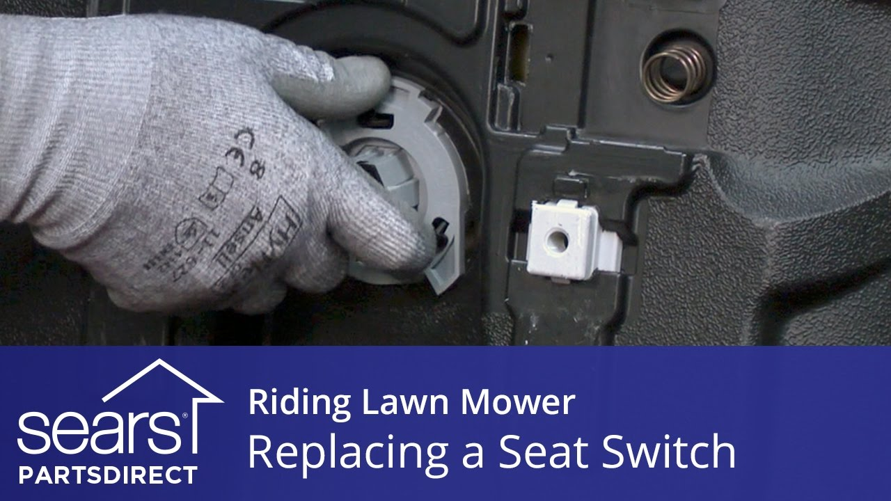 Replacing a Seat Switch on a Riding Lawn Mower
