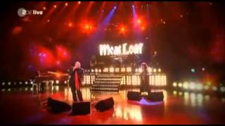 Meat Loaf Live Medley Took the Words - All of Me - Anything for Love at Wetten Das (Dec 3, 2011)