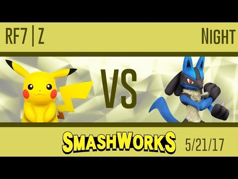 RF7 | Z (Pikachu) vs Night (Lucario) - Wii U SmashWorks