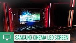 Samsung Cinema LED Screen im Traumpalast in Esslingen