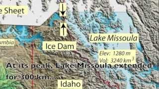 Glacial Lake Missoula Flood.mov