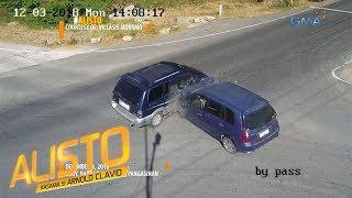 Alisto: Dalawang SUV, nagsalpukan sa isang intersection sa Pangasinan!