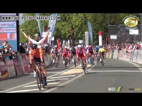 Arrivée de la 5e étape du Tour Poitou-Charentes 2021 à Poitiers - Clément Carisey (Team Delko)