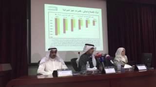 وزير المالية أنس الصالح يستعرض وثيقة الإصلاح المالي والإقتصادي في مؤتمر صحافي