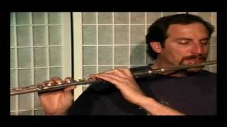 "Flute Lesson - How to play ""Minuet"" in Bb by Bach"